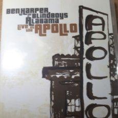 Vídeos y DVD Musicales: BEN HARPER LIVE AT THE APOLLO. Lote 177199435