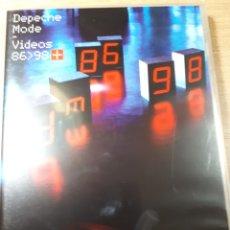 Vídeos y DVD Musicales: DEPECHE MODE VIDEOS 86/98 2 DVD. Lote 177199605