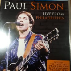 Vídeos y DVD Musicales: PAUL SIMON LIVE FROM PHILADELPHIA. Lote 177200333