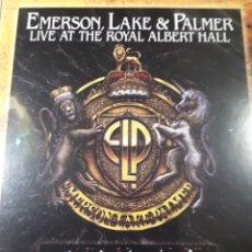 Vídeos y DVD Musicales: EMERSON LAKE AND PALMER LIVE AT THE ROYAL ALBERT HALL. Lote 177200459