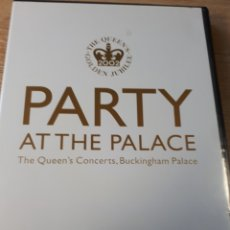 Vídeos y DVD Musicales: PARTY AT THE PALACE TGE QUEEN S CONCERTS BUCKINGHAM PALACE. Lote 177312218