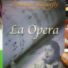 Vídeos y DVD Musicales: DVD MADAME BUTTERFLY VERSION DE JOSÉ LUIS MORENO LA OPERA 134 MINUTOS. Lote 177674639