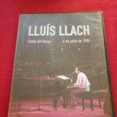 Vídeos y DVD Musicales: LLUIS LLACH - CAMP DEL BARÇA 1985 + MAI NO HA MANCAT EL TEU ALE - PRECINTAT. Lote 177986748