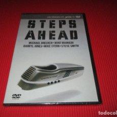 Vídeos y DVD Musicales: STEPS AHEAD ( LIVE IN TOKIO ) - PRECINTADO - LOS GRANDES DEL JAZZ EN DVD - 14 - MICHAEL BRECKER .... Lote 178141430
