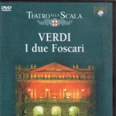 Vídeos y DVD Musicales: VERDI: I DUE FOSCARI SCALA. . Lote 178177096