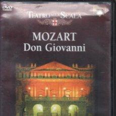 Vídeos y DVD Musicales: MOZART: DON GIOVANNI SCALA. GRUBEROVA, ALLEN, MUTI. Lote 178308745