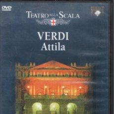 Vídeos y DVD Musicales: VERDI: ATTILA. SCALA SAMUEL RAMEY, CHERYL STUDER, RICCARDO MUTI. Lote 178310833