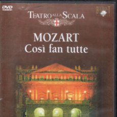 Vídeos y DVD Musicales: MOZART: COSÌ FAN TUTTE SCALA DANIELA DESSI, DELORES ZIEGLER RICCARDO MUTI. Lote 178311022
