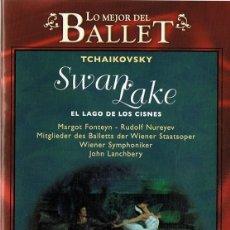 Vídeos y DVD Musicales: LO MEJOR DEL BALLET EL LAGO DE LOS CISNES TCHAIKOVSKY . Lote 178332065