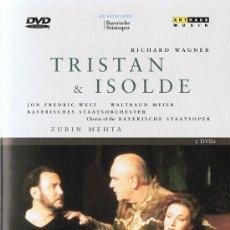 Vídeos y DVD Musicales: TRISTAN& ISOLDE RICHARD WAGNER . Lote 178335306