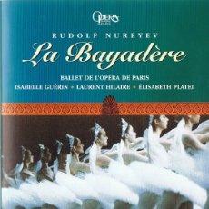 Vídeos y DVD Musicales: LA BAYADÉRE RUDOLF NUREYEV . Lote 178335670