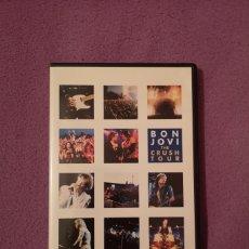 Vídeos y DVD Musicales: LIQUIDACIÓN DVD BON JOVI THE CRUSH TOUR DVD RICHIE SAMBORA. Lote 178689105