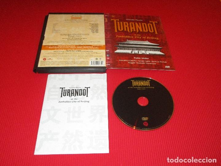 TURANDOT AT THE FORBIDDEN CITY OF BEIJING - DVD - CARTONE - 74321 60917 2 - RCA - GIACOMO PUCCINI (Música - Videos y DVD Musicales)