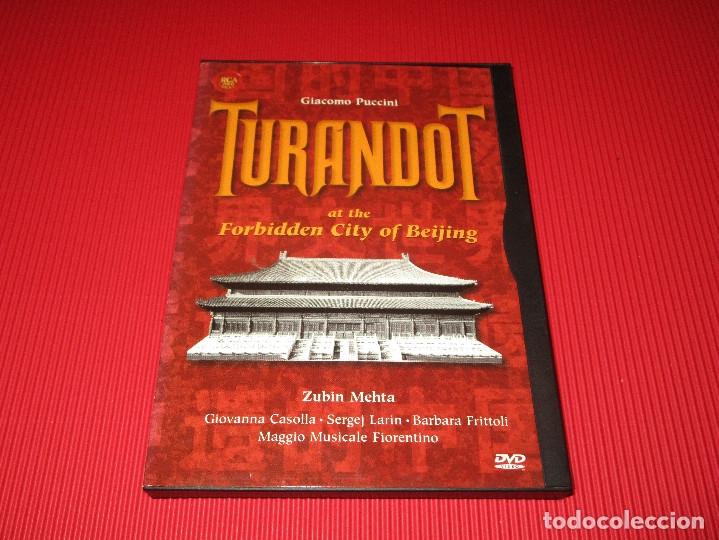 Vídeos y DVD Musicales: TURANDOT AT THE FORBIDDEN CITY OF BEIJING - DVD - CARTONE - 74321 60917 2 - RCA - GIACOMO PUCCINI - Foto 2 - 178689765