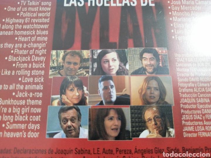 Vídeos y DVD Musicales: LAS HUELLAS DE DYLAN LOQUILLO DVD 2006 - Foto 3 - 178748818