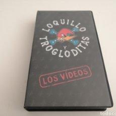 Vídeos y DVD Musicales: LOQUILLO LOS VÍDEOS VHS DIFÍCIL COLECCIONISTA. Lote 178750687