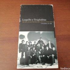 Vídeos y DVD Musicales: LOQUILLO Y TROGLODITAS VHS COMPAÑEROS DE VIAJE. Lote 178750832