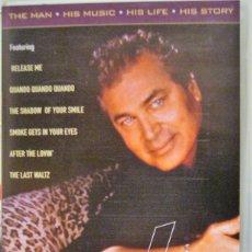 Vídeos y DVD Musicales: ENGELBERT HUMPERDINCK - KING OF ROMANCE - VHS. Lote 178826461