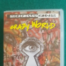 Vídeos y DVD Musicales: SCORPIONS CRAZY WORLD TOUR LIVE...VHS. Lote 178948327