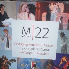 Vídeos y DVD Musicales: M-22 MOZART THE COMPLETE OPERAS SALZBURGER FESTSPIELE-NUEVO . Lote 178994493