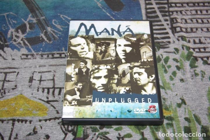 MANÁ - MTV UNPLUGGED + 2 VIDEOS BONUS - 3984-27904-2 - WEA / WARNER MUSIC - DVD (Música - Videos y DVD Musicales)