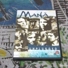 Vídeos y DVD Musicales: MANÁ - MTV UNPLUGGED + 2 VIDEOS BONUS - 3984-27904-2 - WEA / WARNER MUSIC - DVD. Lote 179026731