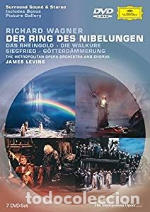 EL ANILLO DEL NIVELUNGO RICHARD WAGNER DVD DEUTCHE GRAMMOPHONS (Música - Videos y DVD Musicales)