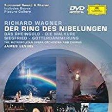 Vídeos y DVD Musicales: EL ANILLO DEL NIVELUNGO RICHARD WAGNER DVD DEUTCHE GRAMMOPHONS. Lote 179040250