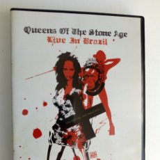 Vídeos y DVD Musicales: DVD: QUEENS OF THE STONE AGE - LIVE IN BRAZIL (SWU FESTIVAL, SAO PAULO 2010) - NO OFICIAL -. Lote 179175705