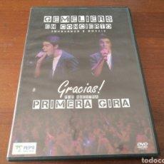 Vídeos y DVD Musicales: 2 DVD GEMELIERS EN CONCIERTO GRACIAS! POR NUESTRA PRIMERA GIRA PEP' MUSIC 2015. Lote 179381157