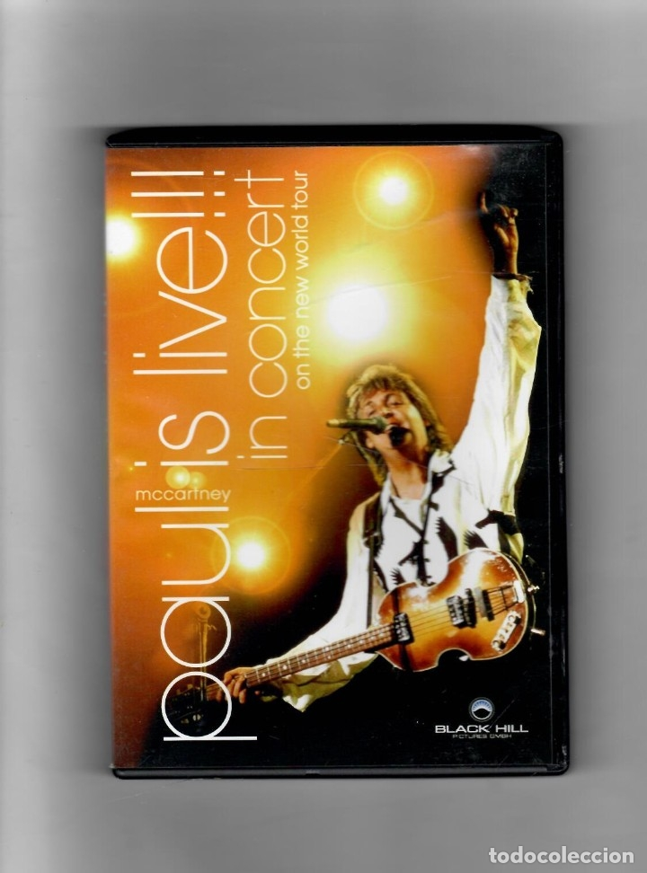 PAUL IS LIVE!!! IN CONCERT ON THE NEW WORLD TOUR (Música - Videos y DVD Musicales)