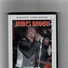 Vídeos y DVD Musicales: GRANDES CONCIERTO - JASMES BROWN - LIVE AT CHASTAIN PARK. Lote 56070915