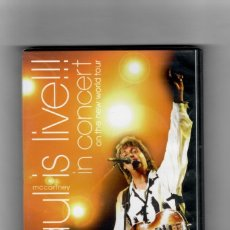Vídeos y DVD Musicales: PAUL IS LIVE!!! IN CONCERT ON THE NEW WORLD TOUR. Lote 179838516