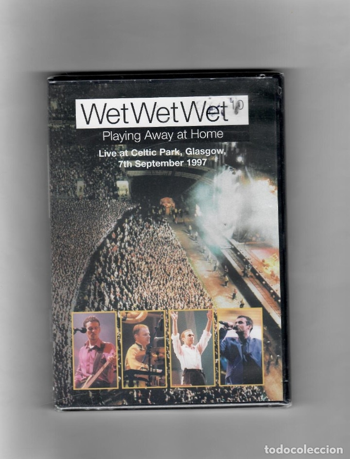 WET WET WET, PLAYING AWAY AT HOME (JUGANDO EN CASA) (Música - Videos y DVD Musicales)