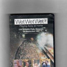 Vídeos y DVD Musicales: WET WET WET, PLAYING AWAY AT HOME (JUGANDO EN CASA). Lote 52020605