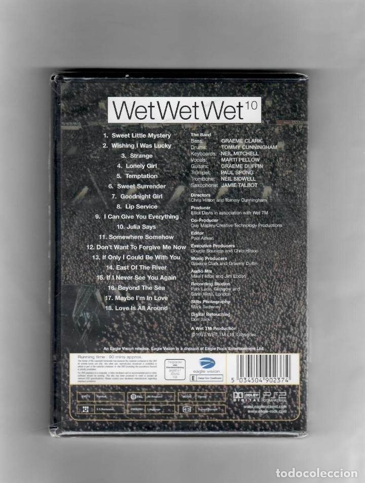 Vídeos y DVD Musicales: Wet Wet Wet, playing away at home (jugando en casa) - Foto 2 - 52020605