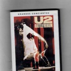 Vídeos y DVD Musicales: U2 RATTLE AND HUM. DVD 1 DE LA COLECCIÓN GRANDES CONCIERTOS. ABC. Lote 50191853