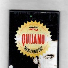 Vídeos y DVD Musicales: QUIJANO. MUSAC 29 MAYO 2007 - COMO NUEVO ESTUCHE CAJA SLIM. Lote 50262684