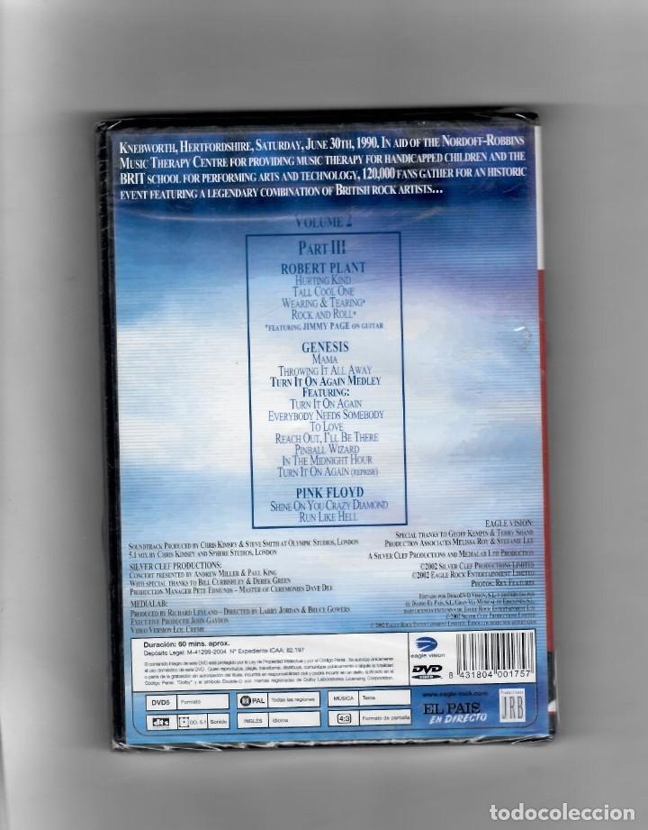 Vídeos y DVD Musicales: Live at Knebworth. volumen 2- III PARTE Génesis, Pink Floyd, Robert Plant y Jimmy Page - Foto 2 - 50261598