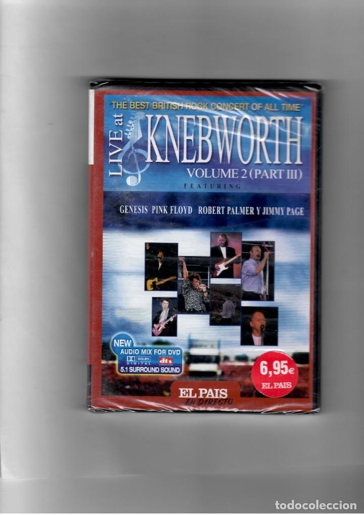 LIVE AT KNEBWORTH. VOLUMEN 2- III PARTE GÉNESIS, PINK FLOYD, ROBERT PLANT Y JIMMY PAGE (Música - Videos y DVD Musicales)