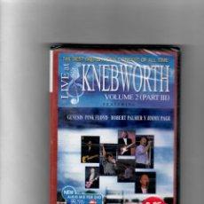 Vídeos y DVD Musicales: LIVE AT KNEBWORTH. VOLUMEN 2- III PARTE GÉNESIS, PINK FLOYD, ROBERT PLANT Y JIMMY PAGE. Lote 50261598