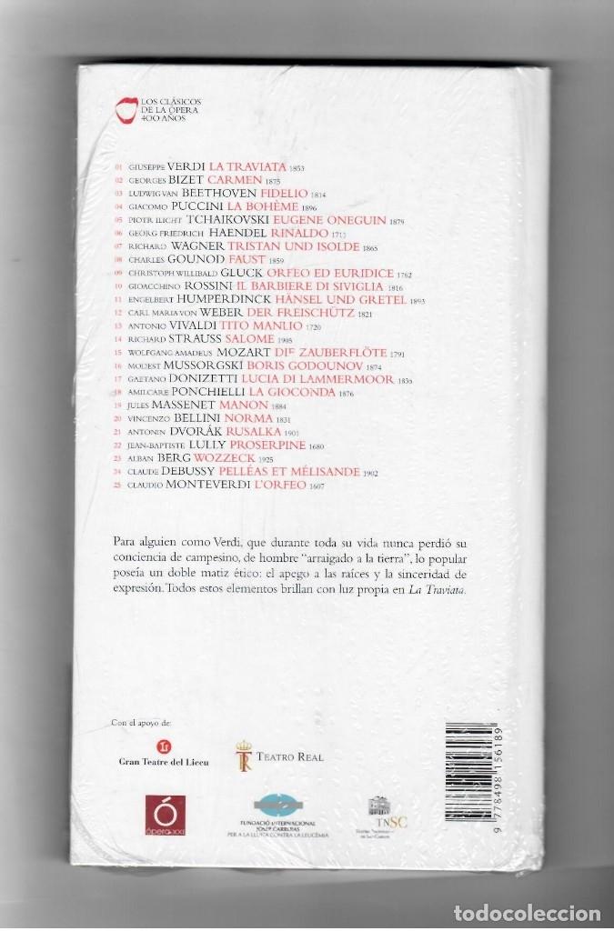 Vídeos y DVD Musicales: VERDI LA TRAVIATA - LIBRO + 2 CD´S . LOS CLÁSICOS DE LA ÓPERA 400 AÑOS. EL PAIS. 2007. - Foto 2 - 180019876