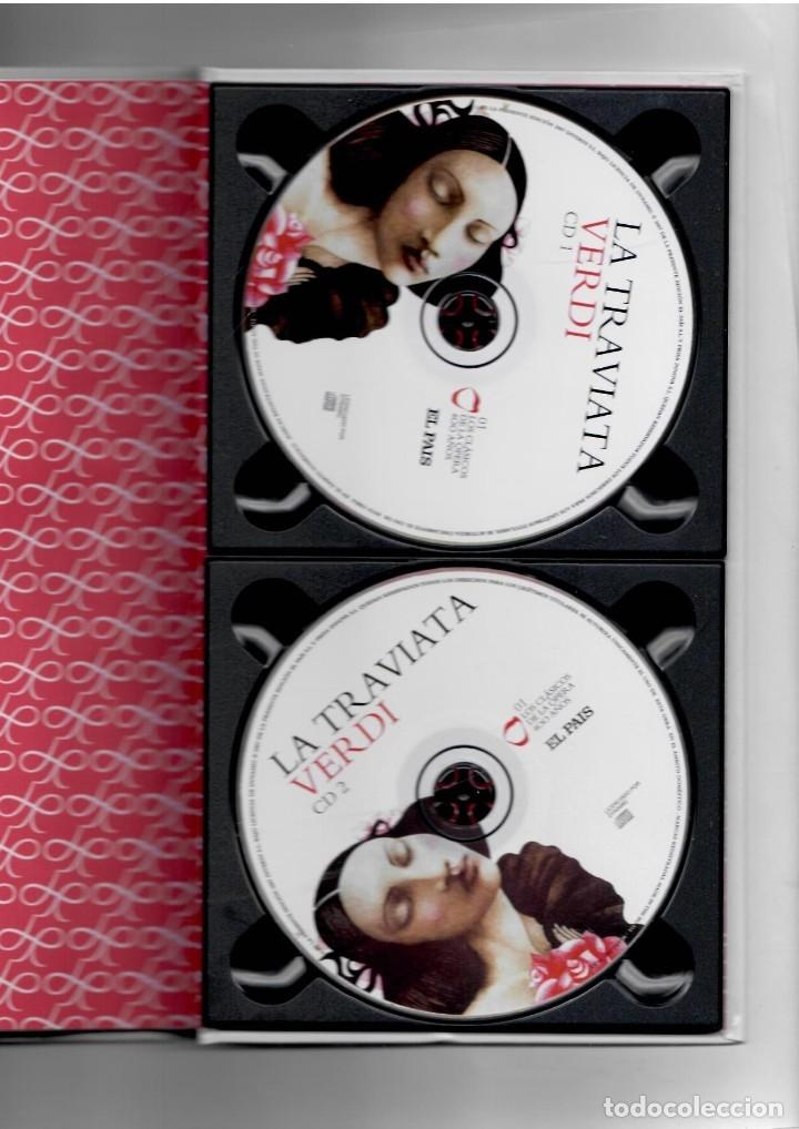 Vídeos y DVD Musicales: VERDI LA TRAVIATA - LIBRO + 2 CD´S . LOS CLÁSICOS DE LA ÓPERA 400 AÑOS. EL PAIS. 2007. - Foto 3 - 180019876