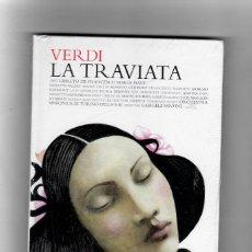 Vídeos y DVD Musicales: VERDI LA TRAVIATA - LIBRO + 2 CD´S . LOS CLÁSICOS DE LA ÓPERA 400 AÑOS. EL PAIS. 2007.. Lote 180019972