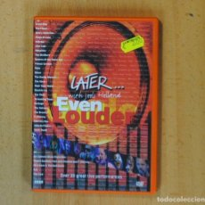 Vídeos y DVD Musicales: LATER... WITH JOOLS HOLLAND EVEN LOUDER - DVD. Lote 180025143