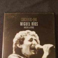 Vídeos y DVD Musicales: MIGUEL RIOS..ROCK & RIOS..DVD. Lote 180029588