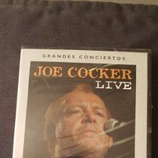Vídeos y DVD Musicales: JOE COCKER LIVE...DVD. Lote 180030277