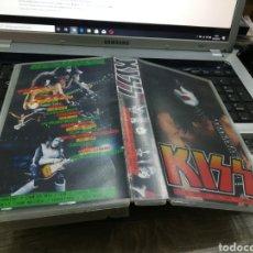 Vídeos y DVD Musicales: KISS VHS LIVE IN CONCERT FLEET THEATRE BOSTON NOV. 1998. RAREZA. Lote 180192528