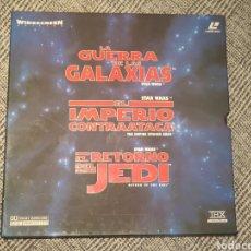 Vídeos y DVD Musicales: STAR WARS TRILOGÍA LASERDISC. Lote 180197881