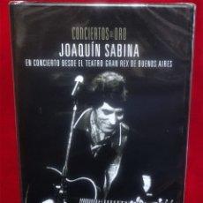 Vídeos y DVD Musicales: JOAQUIN SABINA DVD CONCIERTOS DE ORO PLANETA PRECINTADO. Lote 180262038